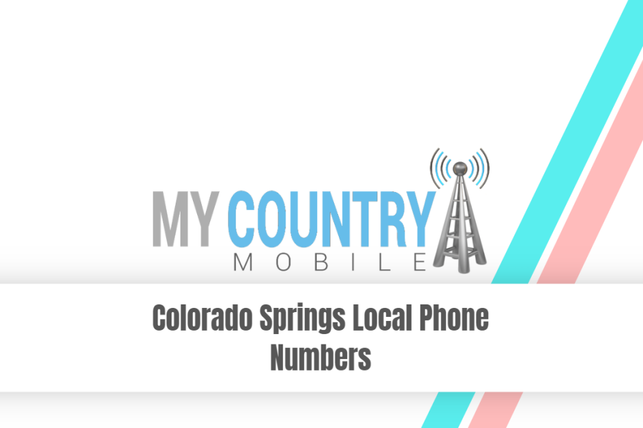 Colorado Springs Local Phone Numbers - My Country Mobile